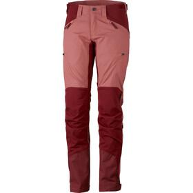 Lundhags Makke Pants Dame crystal/dark red